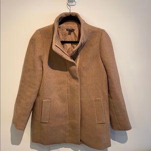 J. Crew City Coat in Camel